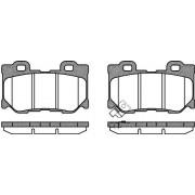 D4060-JL00E 1365.01 Nissan Infiniti задни накладки