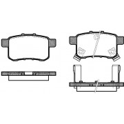 43022-TA0-A000 1332.02 Honda Accord задни накладки