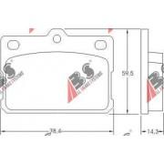 36072 Daihatsu комплект спирачни накладки дискови спирачки