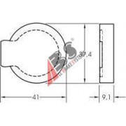 36115 Citroen комплект спирачни накладки дискови спирачки
