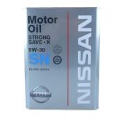 Двигателно масло KLAN505301 Nissan SN 5W-30 4l