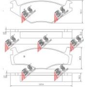 36536 Seat Volkswagen накладки