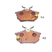 Накладки M850978 5105507 Mitsubishi Smart задни