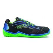 Работни обувки Sparco 07514 NRVD 43 номер черно зелени