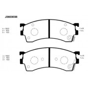 Предни накладки J3603038 CBY1-33-23ZA Mazda