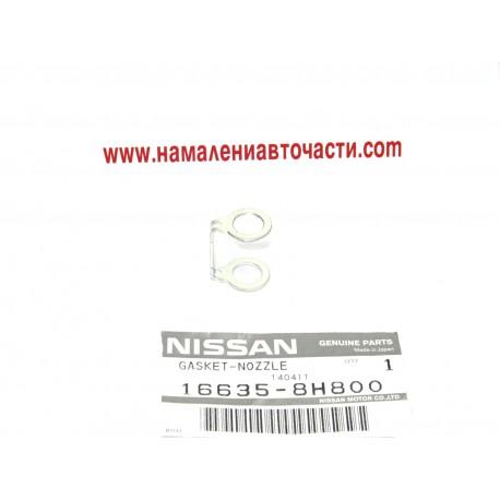 Уплътнение дюза 16635-8H800 166358H800 Nissan