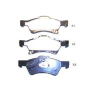 Накладки 05135258AA 5000002 Chrysler Voyager предни