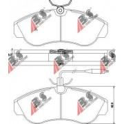 36884 Citroen Fiat Peugeot накладки