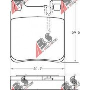 0024200520 Chrysler Mercedes задни накладки