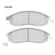 Предни накладки MR527550 J3601066 Mitsubishi L200