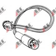 39502 BMW предупредителен контактен сензор,износване на накладките